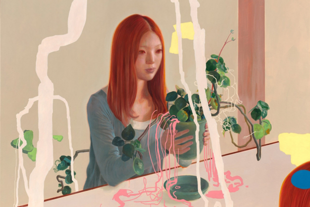 "Image of James Jean ""Parallel Lives"" Exhibition @ Tilton Gallery"