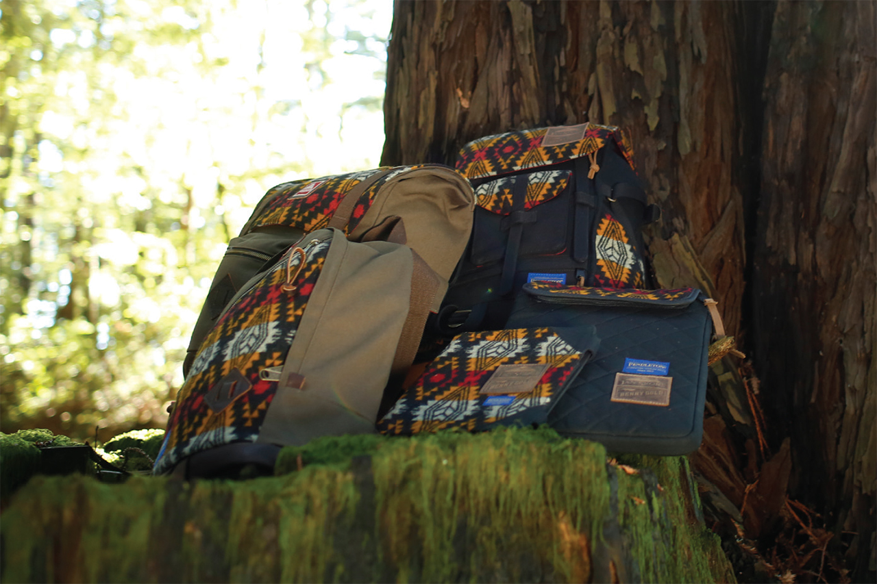 "Image of JanSport x Pendleton x Benny Gold 2013 Fall ""Native"" Collection"