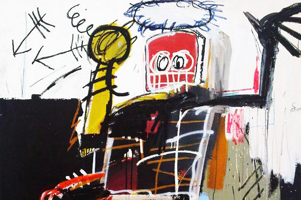 Image of Jean-Michel Basquiat @ Gagosian Gallery New York Preview