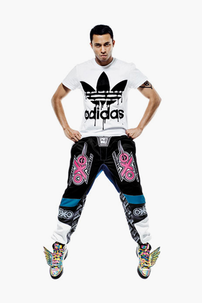 Image of Jeremy Scott x adidas Originals 2013 Spring/Summer Lookbook