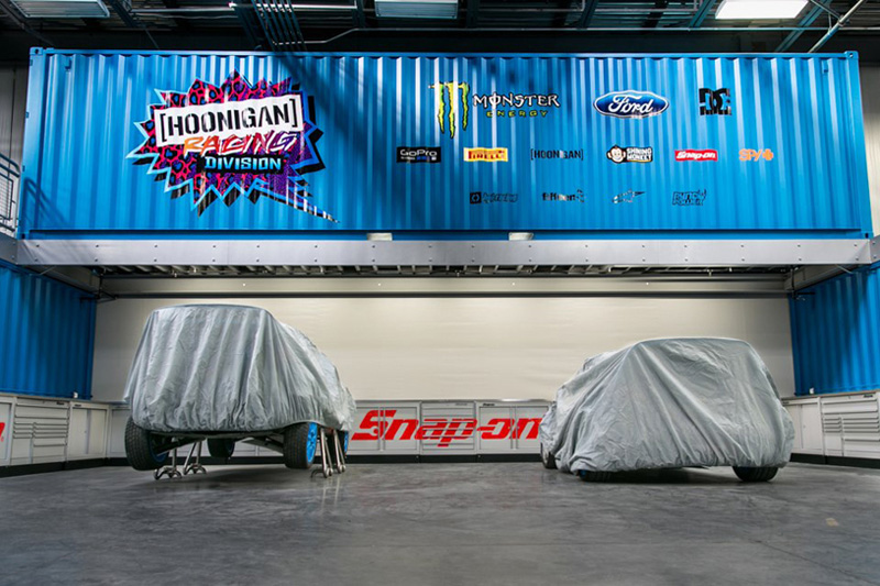 Image of Ken Block's Hoonigan Racing Division Headquarters