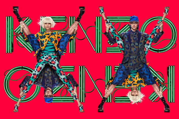 Image of Kenzo 2013 Spring/Summer Campaign