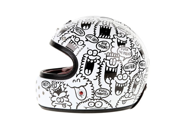 "Image of Kevin Lyons x Les Ateliers Ruby Castel ""Gabriel"" Helmet"