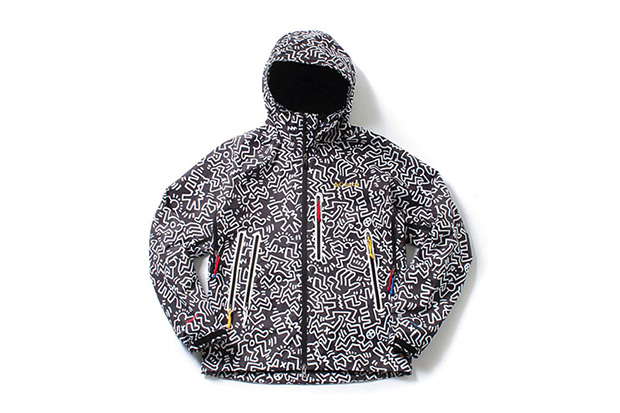 Image of Kinetics x Keith Haring Foundation x Columbia Anders Falls Jacket