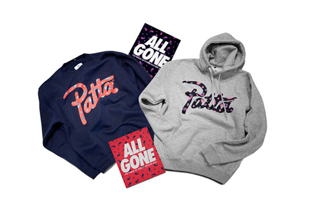 Image of La MJC x Ill Studio x Patta ALL GONE 2012 Paisley Collection