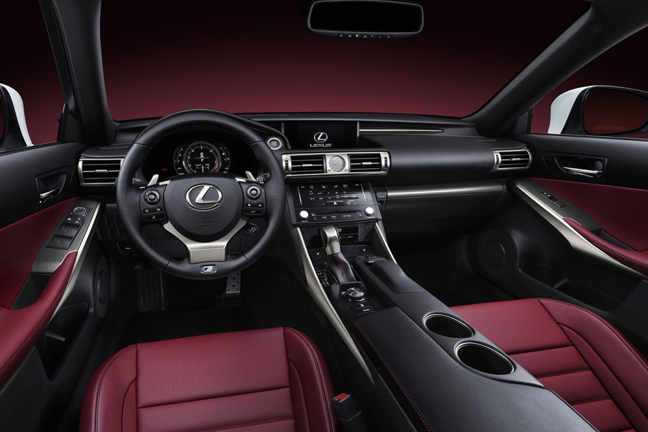 Image of Lexus Releases First Official Photos of the Next Generation IS