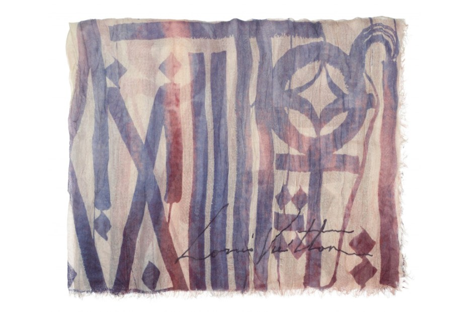 Image of Louis Vuitton Foulards D'Artistes by RETNA, Aiko and Os Geméos