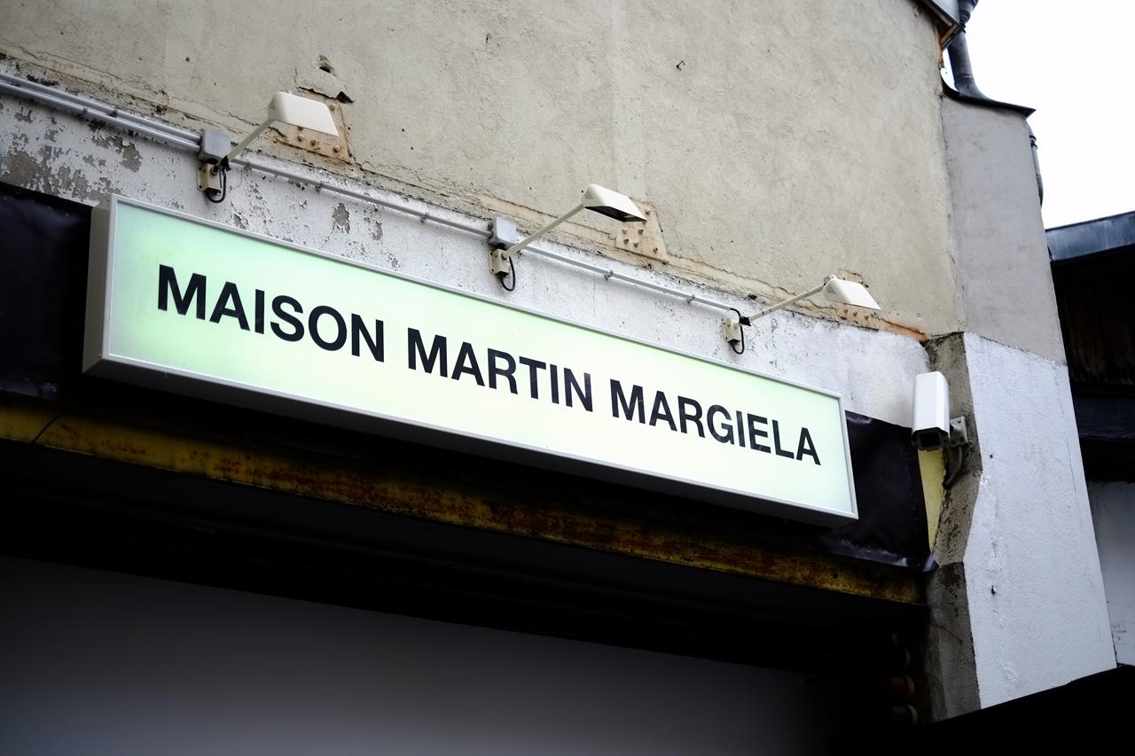 Image of Maison Martin Margiela 2013 Fall/Winter Backstage Visuals
