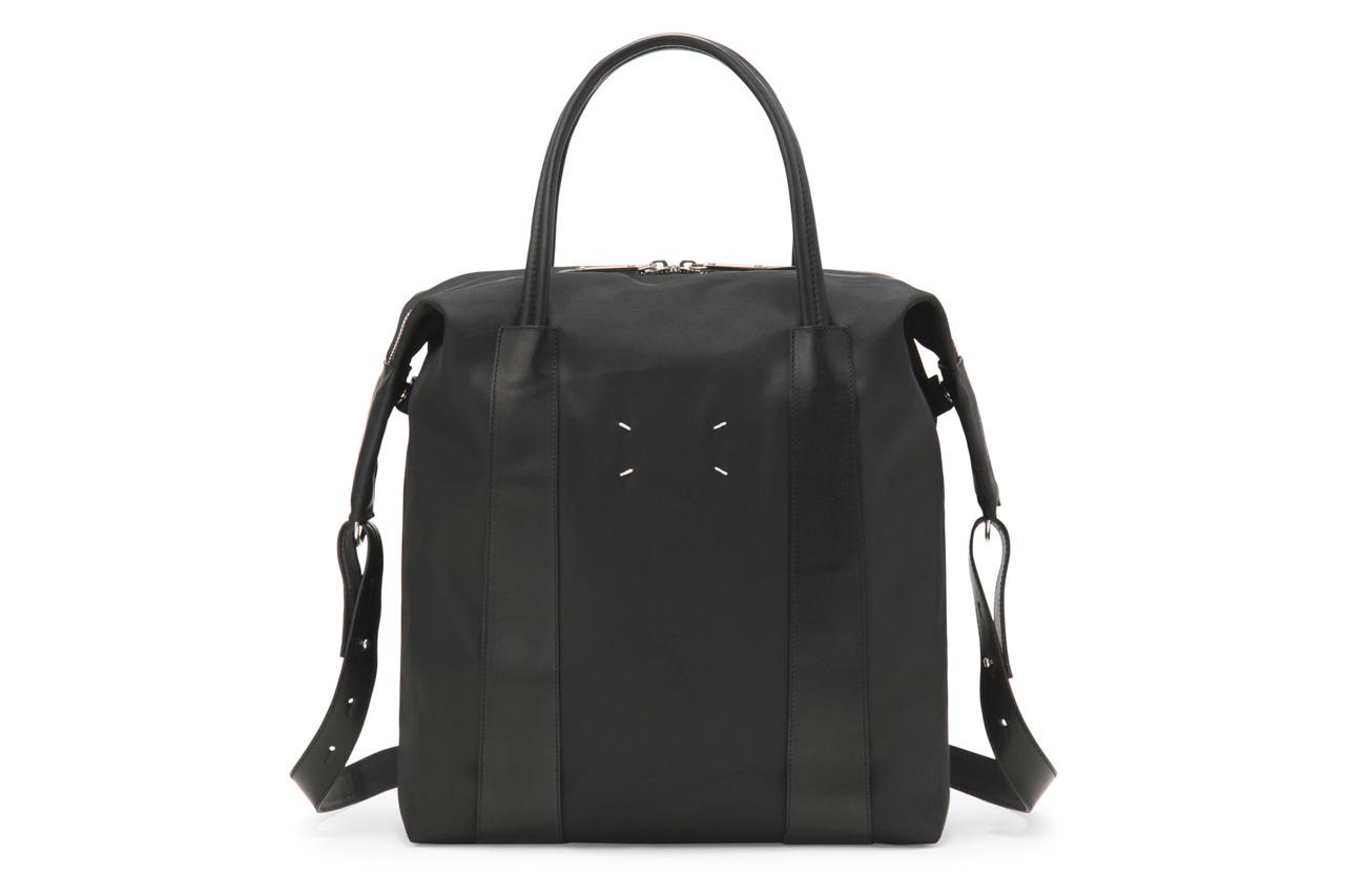 Image of Maison Martin Margiela 2013 Spring/Summer Collection Black Tote Bag