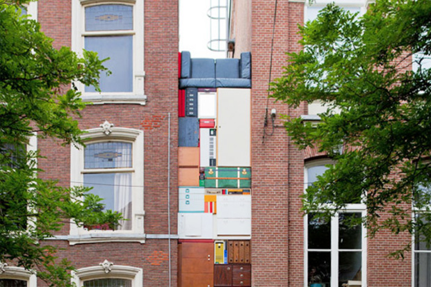 Image of Michael Johansson presents a Real Life Take on Tetris