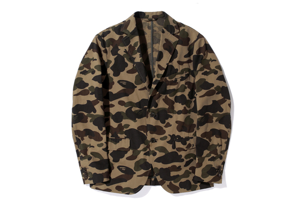 Image of Mr. Bathing Ape 2013 Spring MR 1ST CAMO SEERSUCKER 3BUTTON JACKET