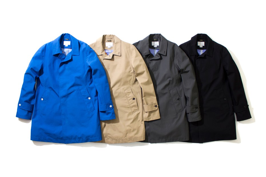 Image of nanamica 2013 Spring/Summer GORE-TEX Soutien Collar Coat