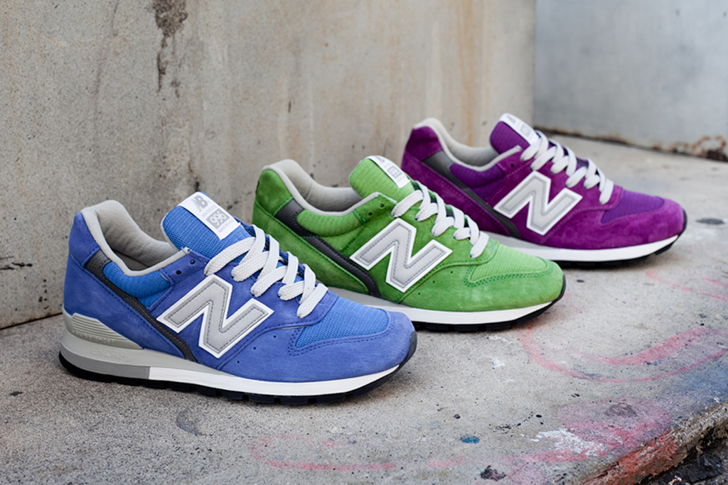 "Image of New Balance Made in USA 996 ""Spring Brights"" Pack"