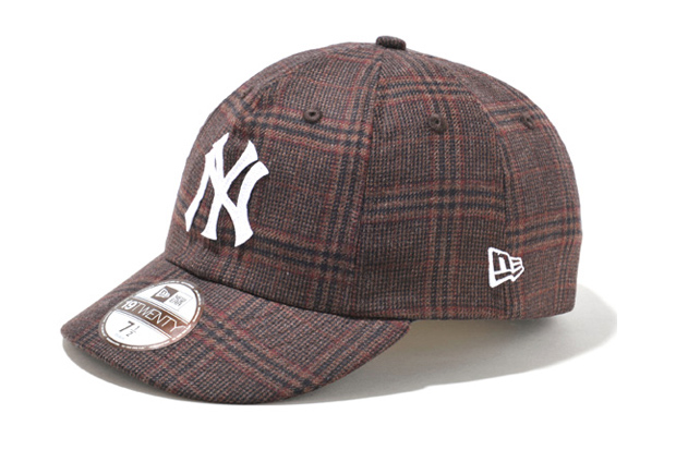 Image of New Era Cloth Ermenegildo Zegna-Trofeo 8-Panel 19TWENTY Classic Cap