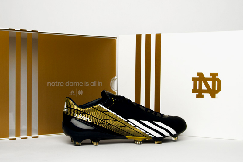 Image of Notre Dame to Debut New adidas adizero 5-Star 2.0 in National Championship Game