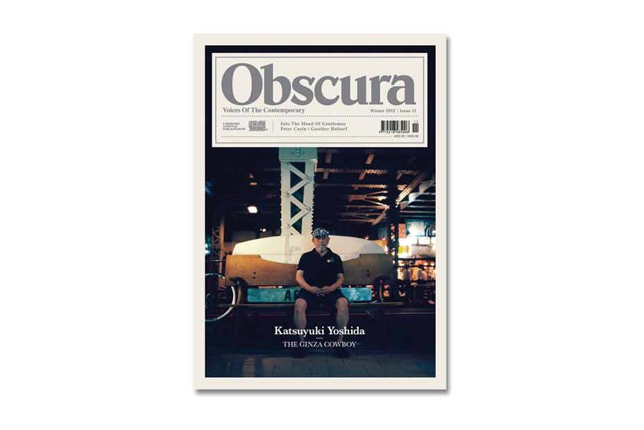 Image of Obscura Issue 11 featuring Katsuyuki Yoshida