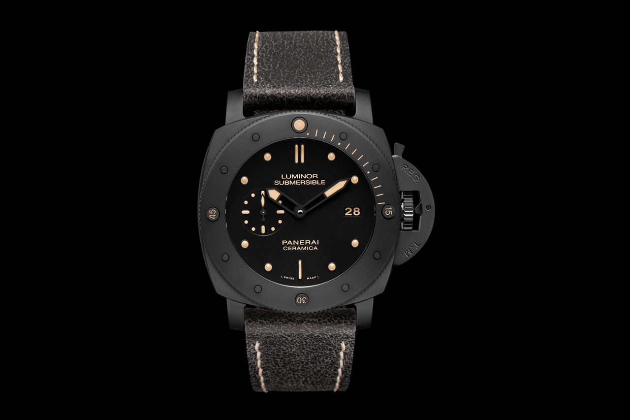 Image of Panerai Luminor 1950 3 Days Automatic Ceramica