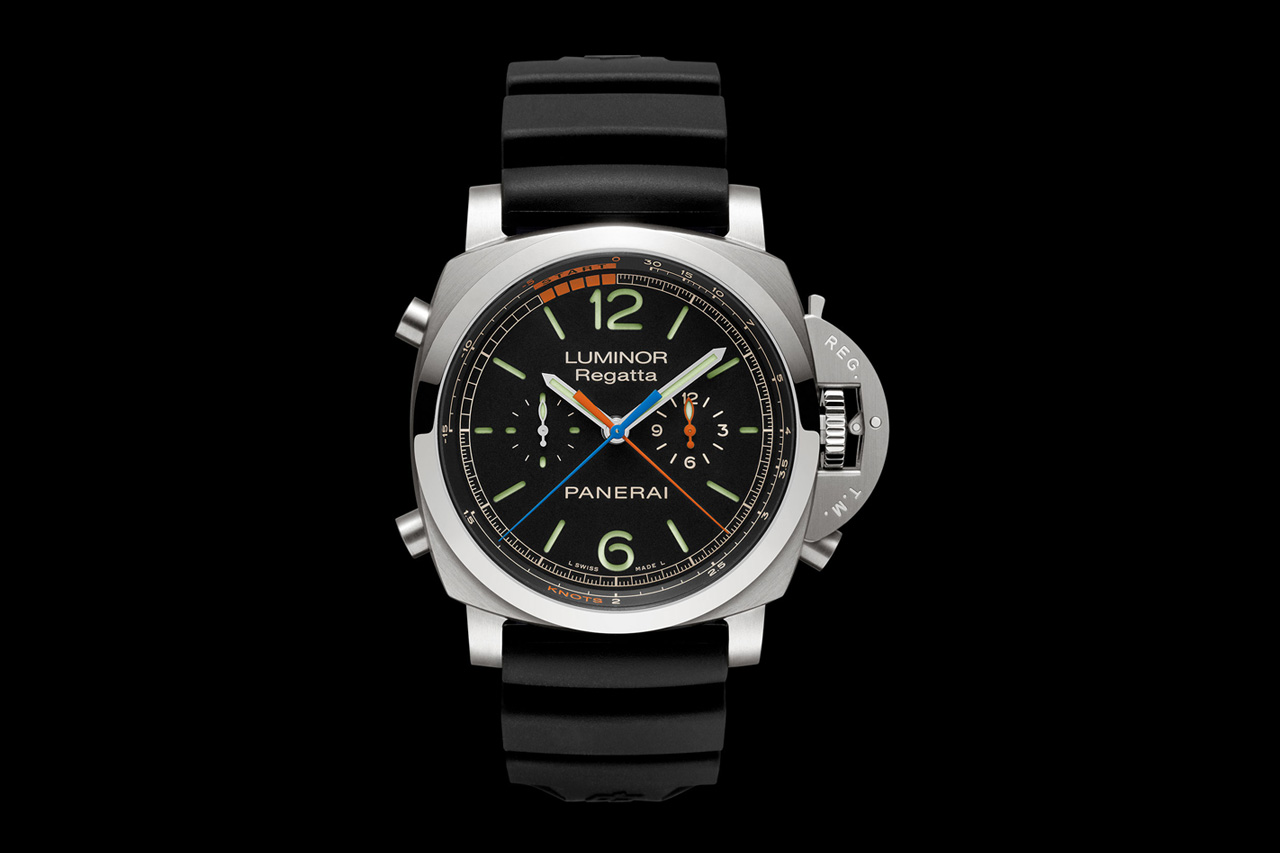 Image of Panerai Luminor 1950 Regatta 3 Days Chrono Flyback Titanio