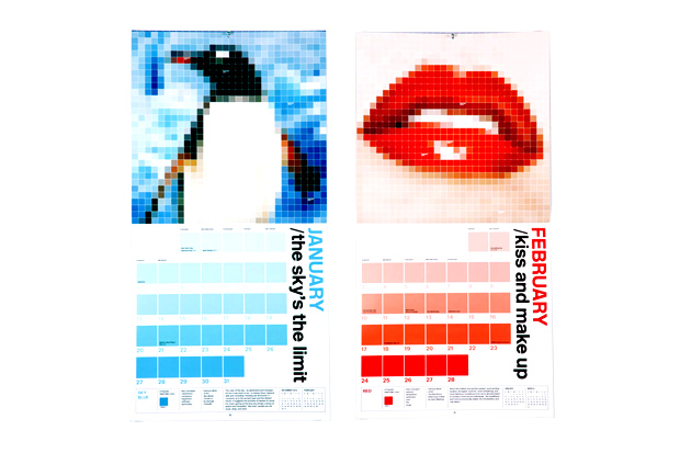 Image of PANTONE 2013 CALENDAR / color your world by Pentagram