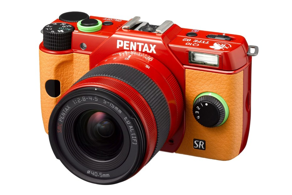 "Image of Pentax Special Edition ""Evangelion"" Q10 Cameras"