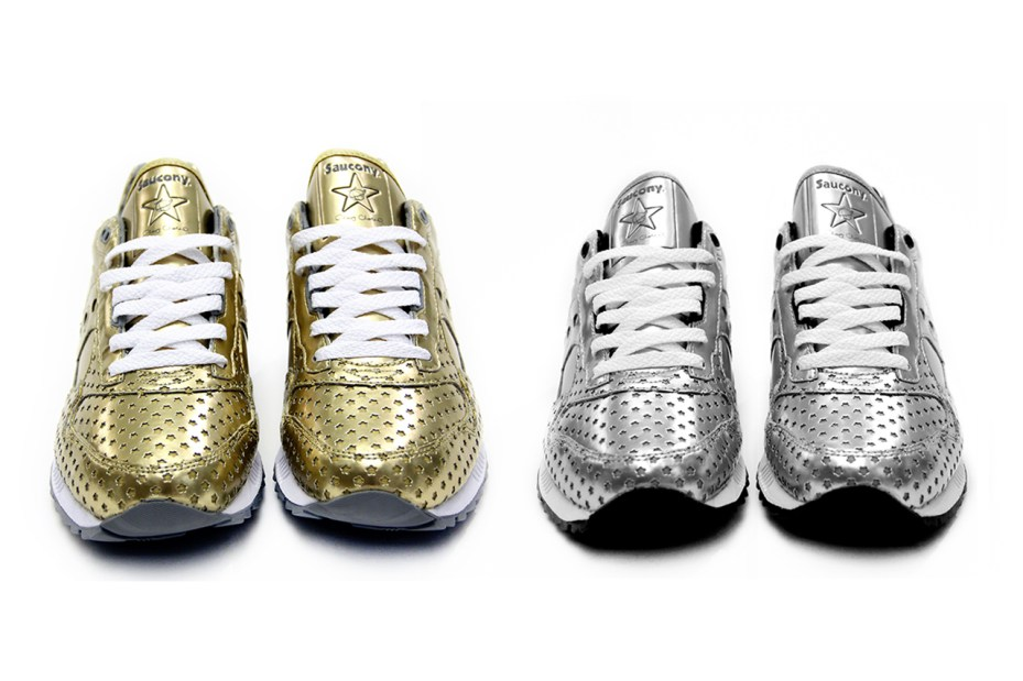 "Image of Play Cloths x Saucony Shadow 5000 ""Precious Metals"" Pack"