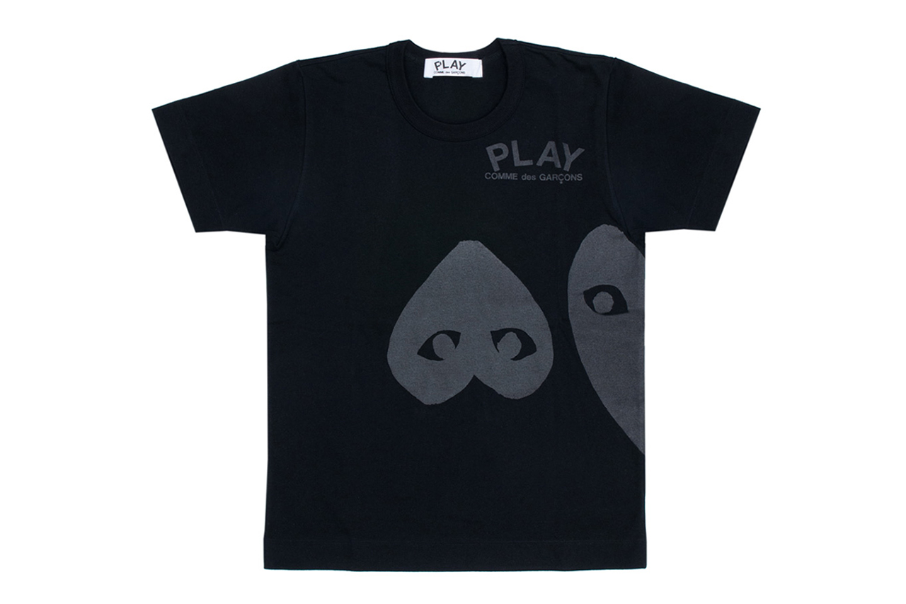 Image of PLAY COMME des GARCONS 2013 Spring/Summer Black Collection