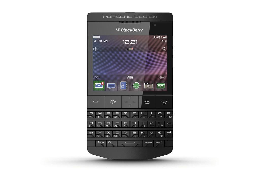 Image of Porsche Design P'9981 BlackBerry Smartphone