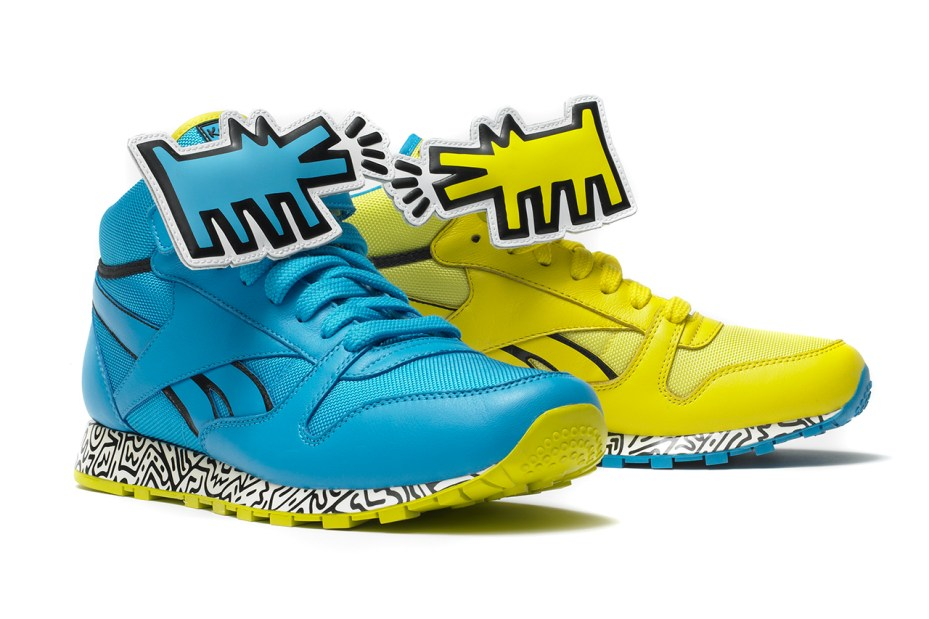 Image of Reebok x Keith Haring Foundation 2013 Collection