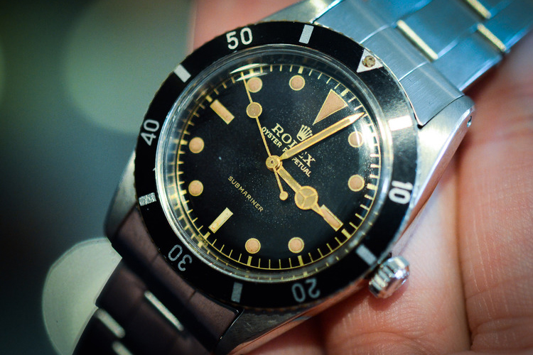 RETROSPECT: 1954 Rolex 6205 Submariner
