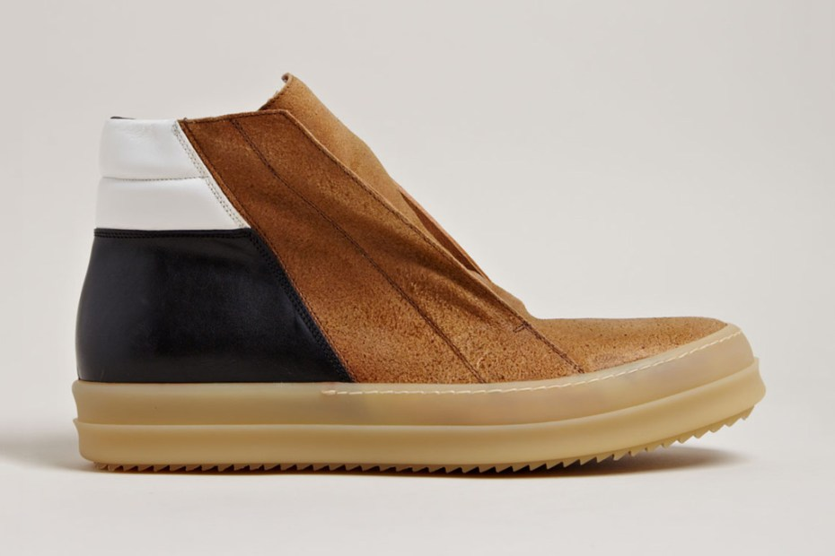 Image of Rick Owens Men's Island Dunk Shoes