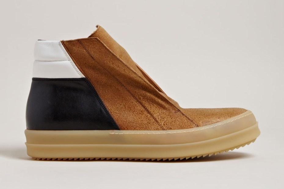 Image of Rick Owens Men's Island Dunk Shoes