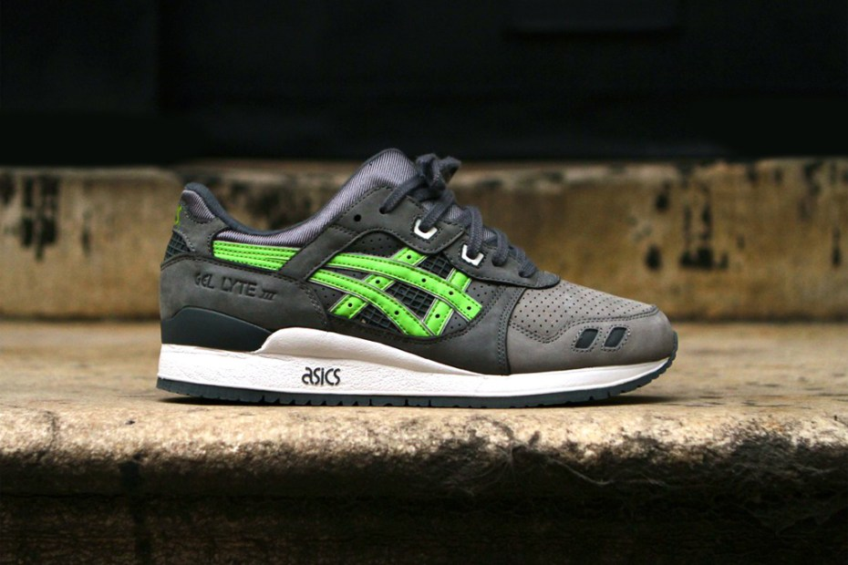 Image of Ronnie Fieg x ASICS Gel Lyte III &quot;Super Green&quot; for Soles4Souls