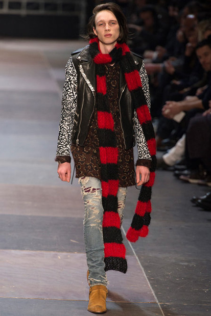 Image of Saint Laurent 2013 Fall/Winter Collection