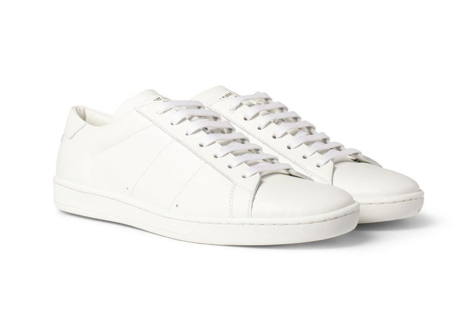 Image of Saint Laurent 2013 Spring/Summer Leather Sneakers