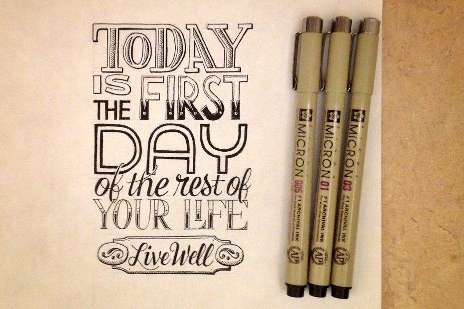 Image of Sean McCabe's Hand-Lettered Quotes