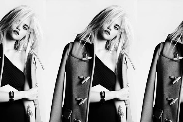 Image of Sky Ferreira Models the Saint Laurent 2013 Pre-Fall Collection