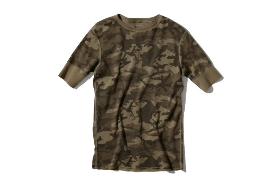 Image of SOPHNET. Camouflage Waffle Shirts & Pants