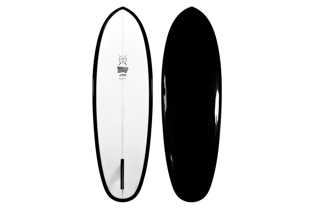 Image of Stampd Black Summit Surfboard