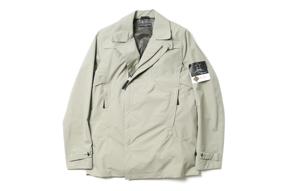 Image of Stone Island Shadow Project Trench Coat