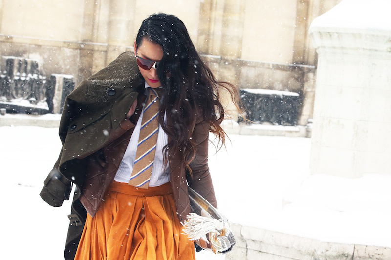 Image of STREETFSN: Paris Street Style for GRAZIA.IT