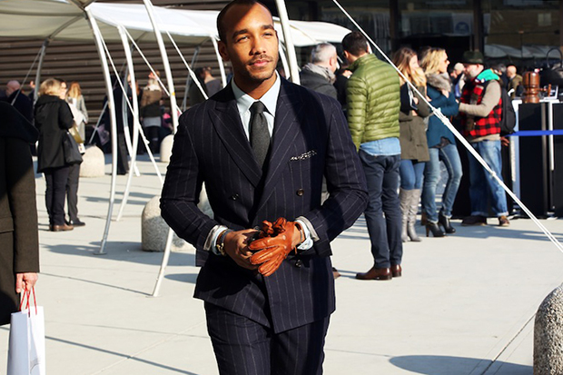 Image of STREETFSN: Pitti Uomo 2013 Fall Street Style Days 1-3 for GRAZIA.IT