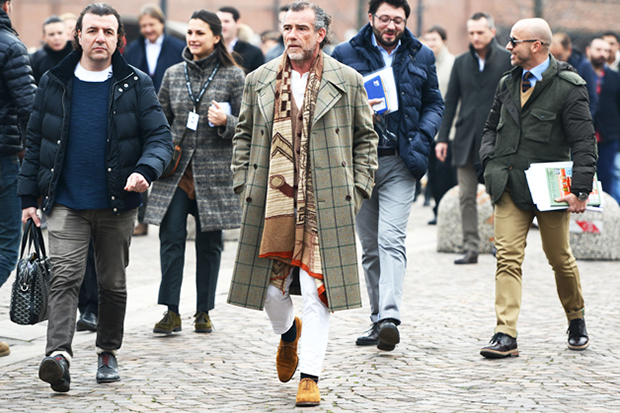 Image of Tommy Ton Captures Florence Street Style at Pitti Uomo 2013 Fall