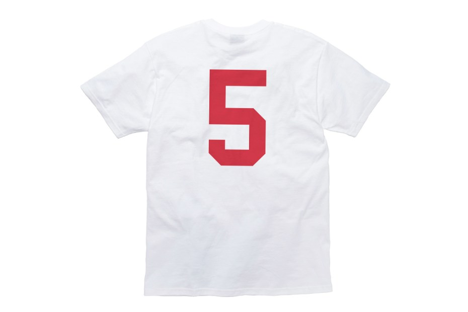 Image of Undefeated 5 Strike 3M Fire Red T-Shirt