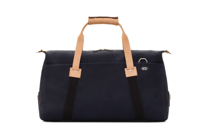 Image of UNITED ARROWS x Jack Spade Soft Duffle & Dipped Coal Bag