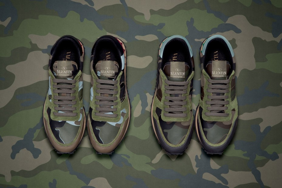 Image of Valentino 2013 Spring/Summer Camouflage Collection