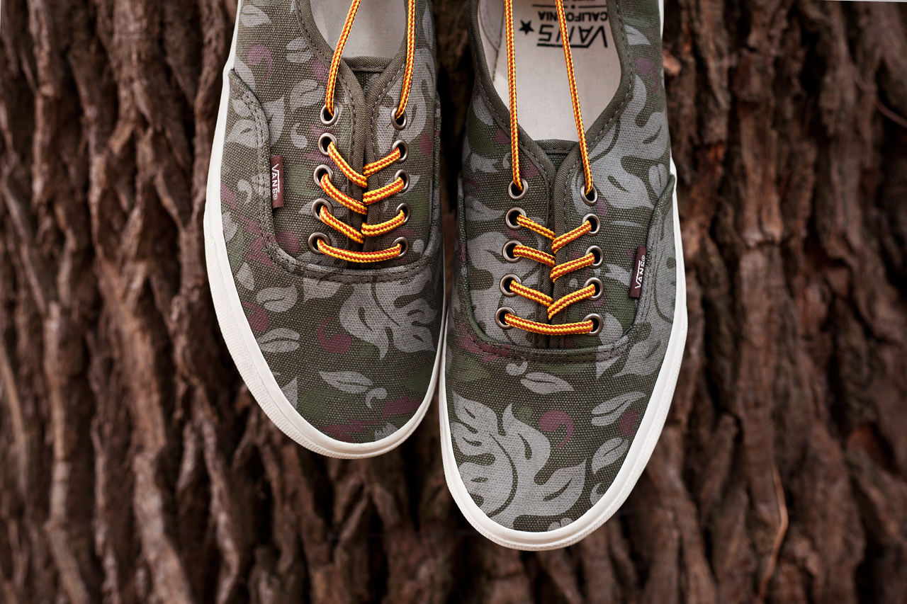 Image of Vans California 2013 Floral Camo Pack