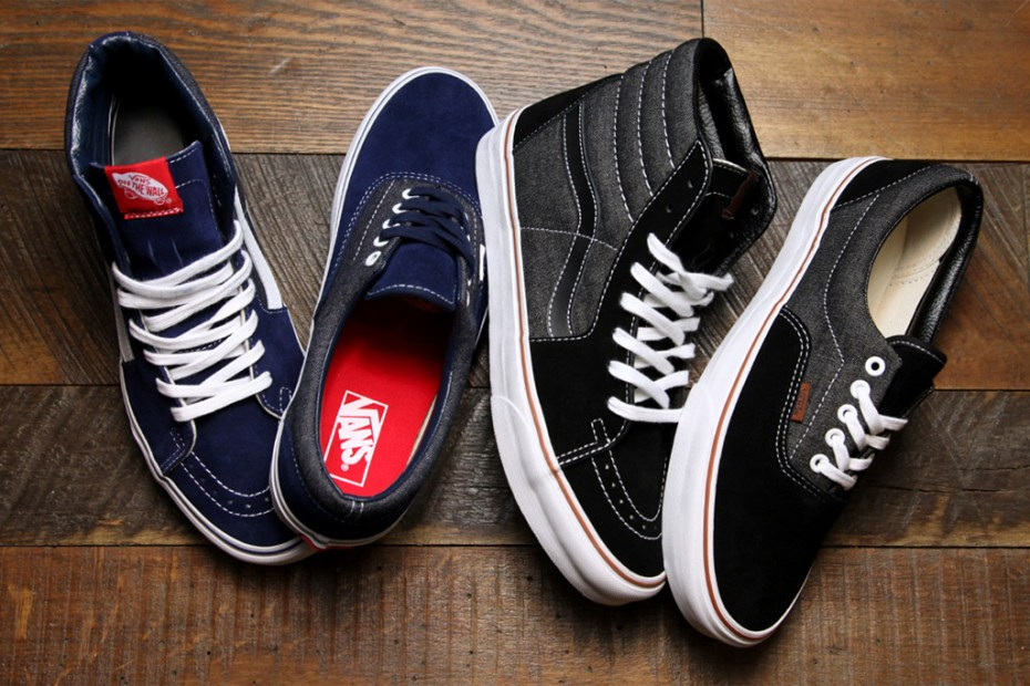 Image of Vans Era & Sk8-Hi Suede & Denim