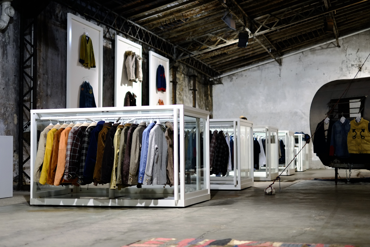Image of visvim 2013 Fall/Winter Paris Showroom