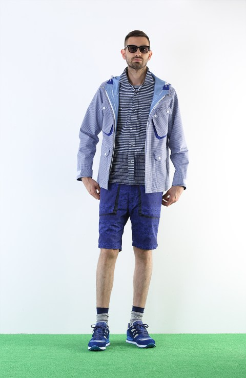 "Image of White Mountaineering 2013 Spring/Summer ""Training Day"" Lookbook"