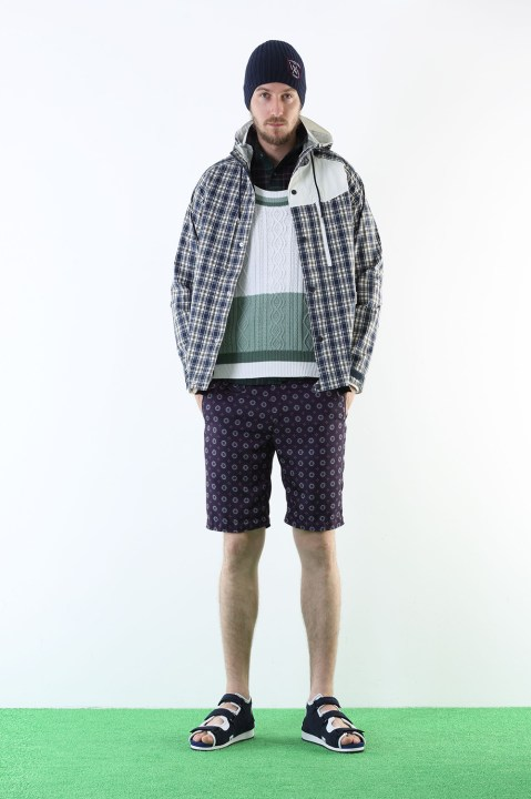 "Image of White Mountaineering 2013 Spring/Summer ""Training Day"" Lookbook Preview"